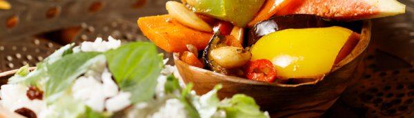 Basmatireis mit Gemüse